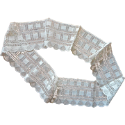 Antique Lace Very Wide For Pillowcase Trim