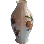 Royal Worcester Arden Vintage Bone China Vase Coordinates With Evesham