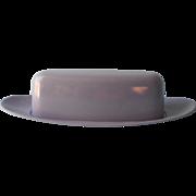 Vintage Melmac Purple Royalon Lavender Mid Century  Butter Dish