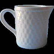 Oneida Basketweave Creamer Majesticware Stoneware