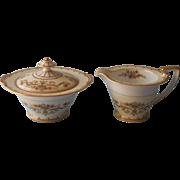 Noritake Arabella Sugar Bowl Lid Creamer