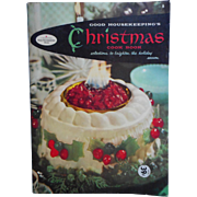 1958 Christmas Cook Book Booklet Good Housekeeping Vintage