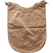 Antique Tiffany Flannel Storage Bag For Silver Item