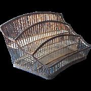 Vintage Wire Work Organizer Rack Perfume Caddy