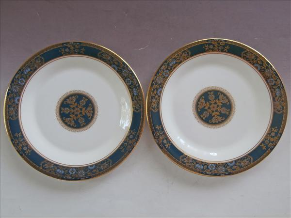 Royal Doulton Carlyle 2 Bread Plates English Bone China