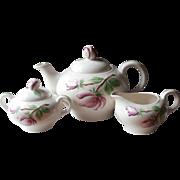 Tea Set Springtime Pearl China Vintage Hand Painted