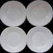 Wedgwood Nantucket 4 Bread Plates England Bone China