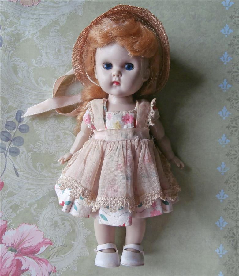 Ginny Vogue Doll Vintage 1950s Strawberry Blonde Original