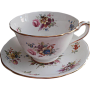 Hammersley Lady Patricia Cup Saucer Vintage Bone China