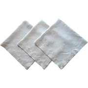 3 Damask Tea Tablecloth Tablecloths Roses Weave Antique Linen TLC