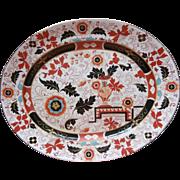 Ashworth 3463 Staffordshire Masons Ironstone Imari Platter