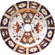 Royal Crown Derby Imari 2451 Plate Dated 1912 Antique