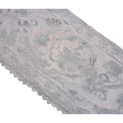Filet Lace Net ca 1920 Pieces Lengths Vintage Trim