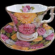 Christine Royal Albert English Bone China Vintage Cup Saucer