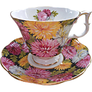 Christine Royal Albert English Bone China Vintage Cup Saucer