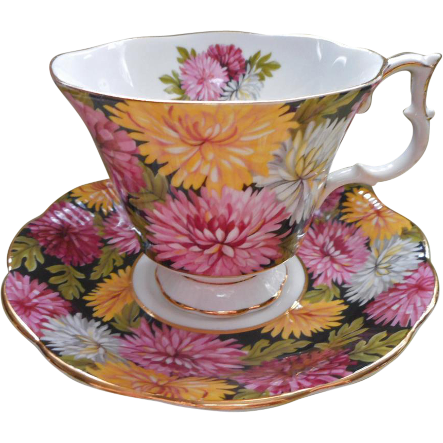 christine royal albert english bone china vintage cup saucer from mercymaude on ruby lane. Black Bedroom Furniture Sets. Home Design Ideas