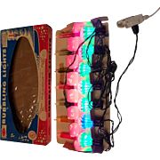 Vintage Yule Glo Bubbling Lights