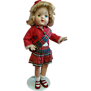 Composition Reliable Doll in Original Clothes