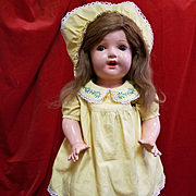 Composition Madame Hendren Doll in Original Dress