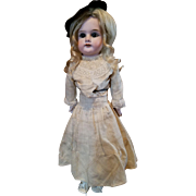 Antique Bisque Limbach in Antique Dress