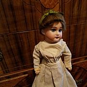 Antique Bisque Armand Marseille 1894 in Original Wool Dress