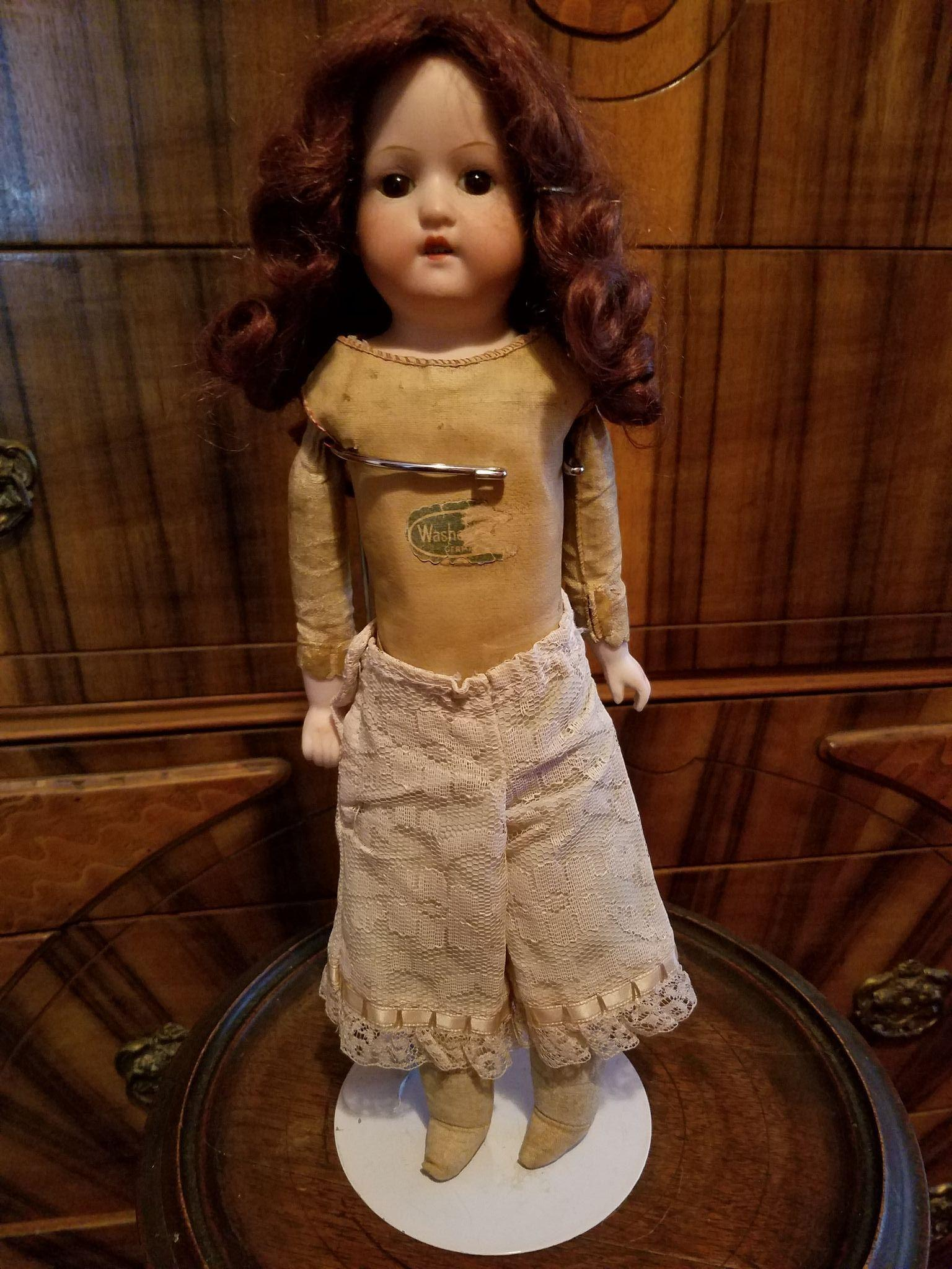 Vintage Pale Pink Lace Doll Pantaloons