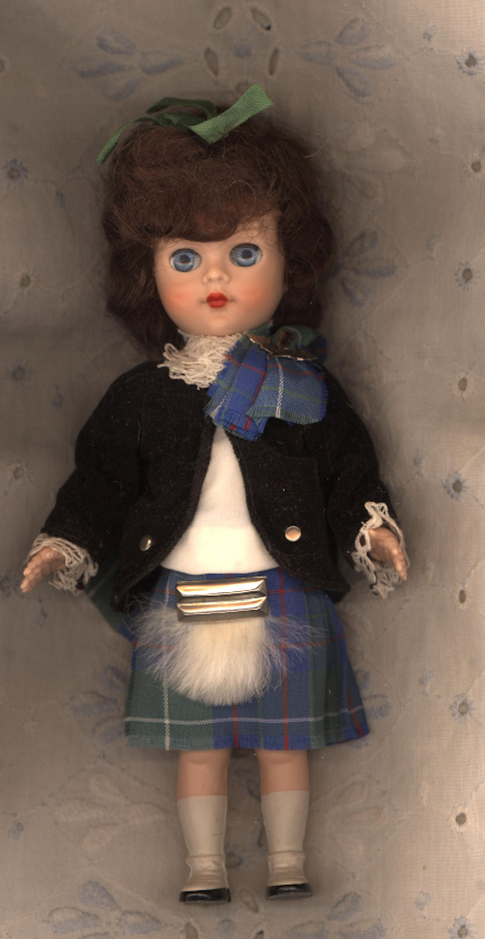 Hard Plastic  Wee Lassie  by Pedigree of England