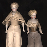Pair of Vintage Miniature Doll Pantaloons