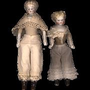 Pair of Vintage Miniature Doll Pantaloons