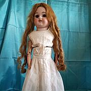 Antique White Cotton Doll Skirt