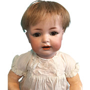 Antique Bisque Kammer and Reinhardt 122 Character Baby