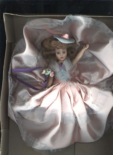 "Hard Plastic ""Melody Doll"" in Original Window Box"