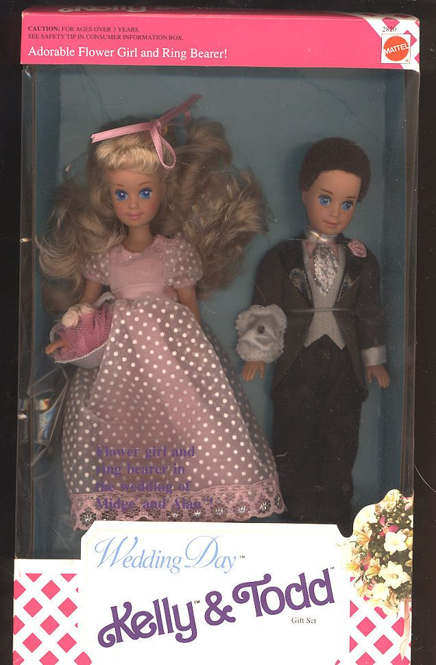 Vintage  Kelly and Todd   Wedding Day Set in Box
