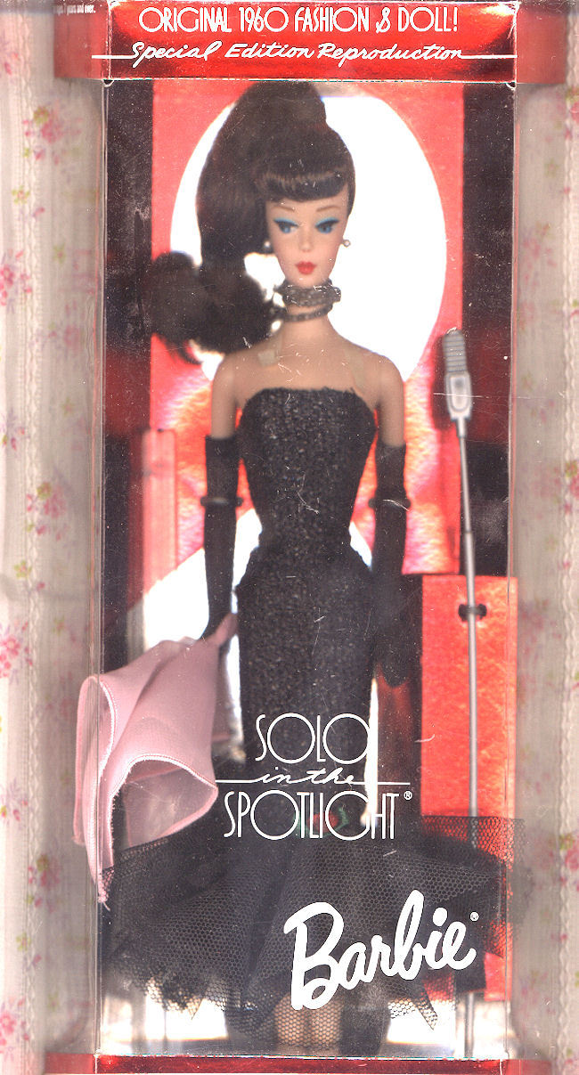 Vintage Boxed Solo in the Spotlight Brunette Barbie