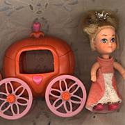 Hasbro Storykin   Cinderella with Pumpkin Coach