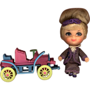 Liddle Kiddle  Rosemary Roadster with Car