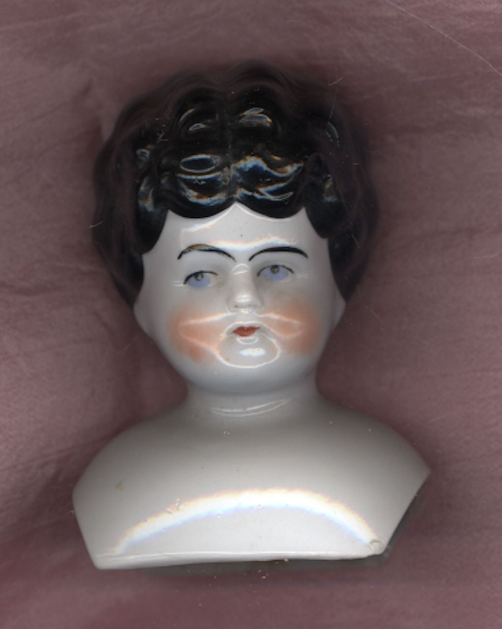 Antique China Head with Turned Head