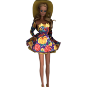 Vintage 1980's Barbie in Vintage Barbie Fashion
