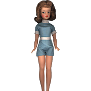 Ideal Tammy with Tosca Hair Color in Original Playsuit
