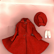 Vintage Skipper Fashion  Dress Coat