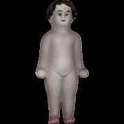 Antique Bisque Frozen Charlotte Doll