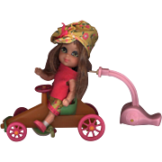 Ride N Run Action Kiddle  Anabelle Autodiddle with Car - Red Tag Sale Item