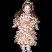 Antique Bisque Miniature Doll