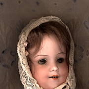 Vintage Lace Doll Bonnet