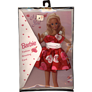 Vintage Barbie Valentine with Barbie Dress