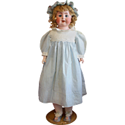 Antique Bisque Character Child in Antique Dress