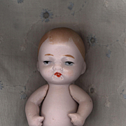 Vintage Pink Bisque German Baby