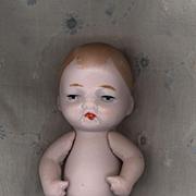 Vintage Pink Bisque German Baby