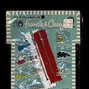 Vintage Francie and Casey Dress Makers Pak 1966