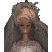 Vintage 1960's Fashion Bride Doll